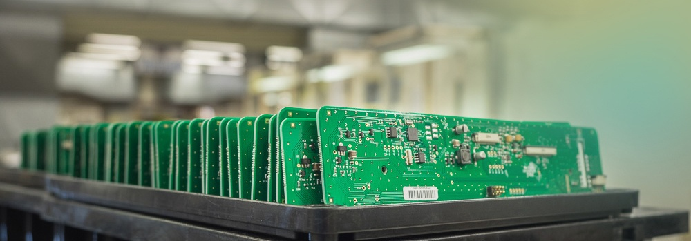 Produced and packed PCBAs
